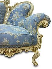 Шкіряний диван, розкладний диван, м'який диван, меблі з шкіри, диван, фото 3