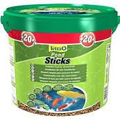 Tetra Pond Sticks - высококачественный основной корм для всех видов прудовых рыб (15 л)
