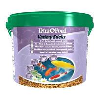 Tetra Pond Variety Sticks - смесь из трех различных видов палочек (7 л)