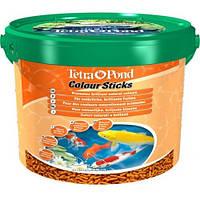 Tetra Pond Colour Sticks - плавающие гранулы для окраса для прудовых рыб (10 л)