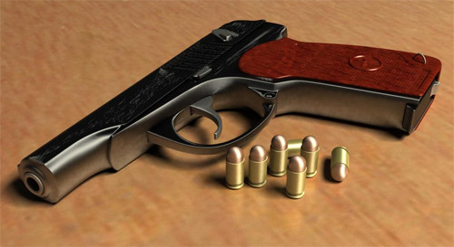 Пистолет пневматический