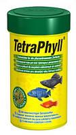 Tetra Phyll корм для всех видов растительноядных рыб (250 мл)
