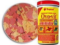Tropical Ovo-vit Корм для молодых и нерестящихся рыб с высоким содержанием яичного желтка, 21л/4 кг.