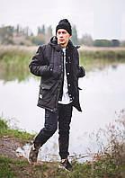 Зимняя парка\куртка Milk Clothing - Classic Black (мужская) Зима Теплая
