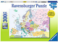 Пазл Карта Европы (300 эл ) Ravensburger (RSV-131327)