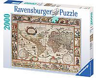 Пазл Карта Мира 1650 года (2000 эл ) Ravensburger (RSV-166336)