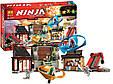 """Конструктор Bela Ninja 10527 """"Боевая площадка для аэроджитцу"""" 686 деталей, фото 2"""