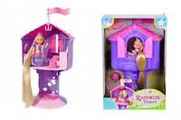 """Кукольный набор Эви """"Рапунцель в башне"""" с длинными волосами, высота башни 32 см, 3+"""