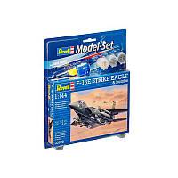 Model Set Истребитель F-15E STRIKE EAGLE & bombs 1:144 Revell (63972)