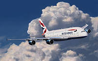 Самолет Airbus A380 British Airways - easy kit 1:288 Revell (6599)