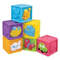 Детские мягкие кубики с животными 6 шт Redbox (23305-1)