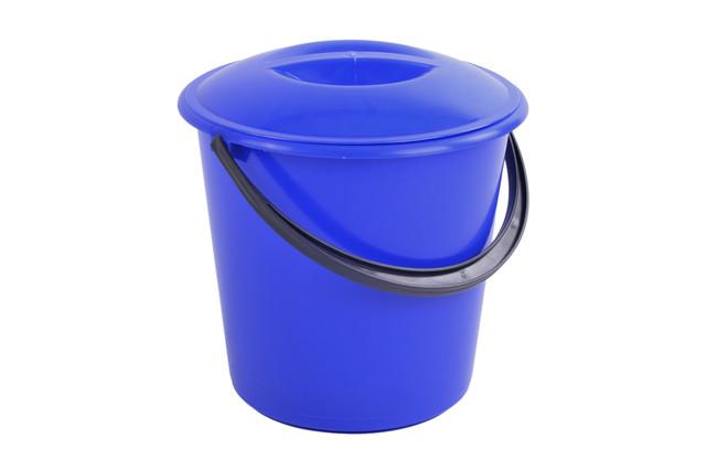 ведро пластиковое 7 литров с крышкой