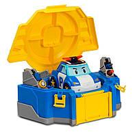 Игровой набор Кейс трансформер Поли с гаражом Robocar Poli (83072)
