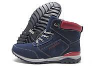 Ботинки подростковые Purlina 792В-3 зимние синие