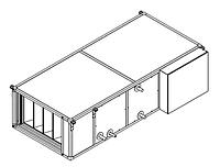 Вентиляционные установки Rest Air типа ST-II (вентилятор с ЕС двигателем) ST-FECWV-2,0 электрокалорифер, вода