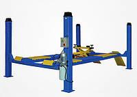 Электрогидравлический четырех стоечный подъемник Safe 4155 E, 5,5 т