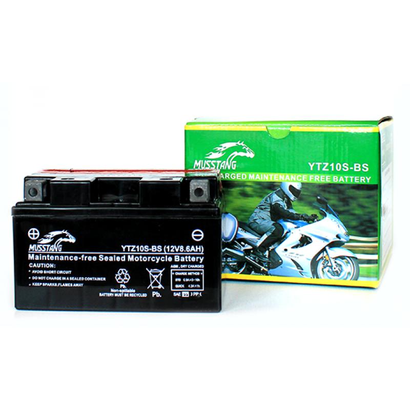 Аккумулятор кислотный (9,5 А/ч, YTZ10S-BS)