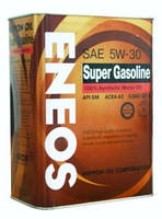 Масло моторное Eneos Super Gasoline SM 5W-30 100% Synthetic 1лит