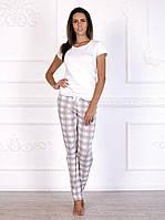 Пижама женская с брюками хлопок
