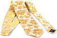 Мужской шелковый галстук SCHONAU & HOUCKEN FARESHS-13 желтый, фото 2
