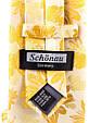 Мужской шелковый галстук SCHONAU & HOUCKEN FARESHS-13 желтый, фото 3