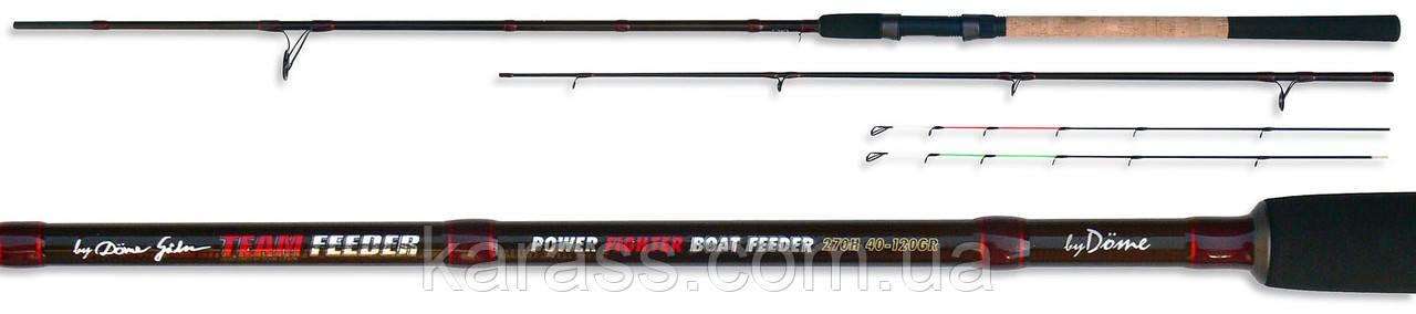 Фидер Team Feeder Power Fighter Feeder 390 H 40-120gr