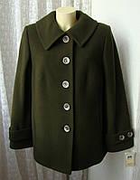 Пальто демисезонное шерсть качество! р.52 7313, фото 1