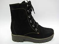 Замшевые женские зимние ботинки ТМ Ross, фото 1