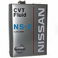 Масло трансмиссионное NISSAN CVT Fluid NS-2 4лит
