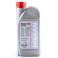 Масло моторное NISSAN 5W-40 1лит