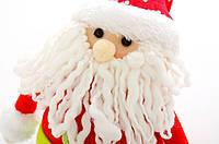 Дед Мороз, Снеговик  41см, в ящ. микс 2 вида