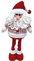 Санта Клаус 43 см, красный