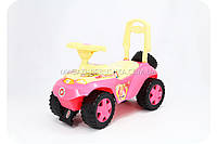 Машина-каталка толокар для детей «Принцессы»