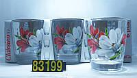 08с1414 Набор стаканов Монарх Магнолия 250мл(6 штук)