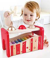 Детская игрушка стучалка с металлофоном