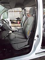 Накладка на порог наружная Renault Kangoo Рено Канго 2008-12