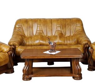 Шкіряний тримісний диван Mercedes (210 см), фото 2