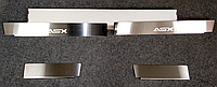 Накладки на пороги Mitsubishi ASX 2010- 4шт. Standart