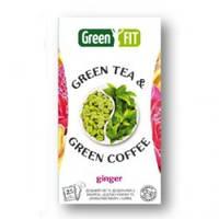 Зеленый чай и зеленый кофе с имбирем и цедрой лимона