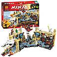 """Конструктор Bela Ninja 10530 (аналог Lego Ninjago 70596) """"Хаос в X-пещере Самураев"""" 1307 деталей, фото 2"""