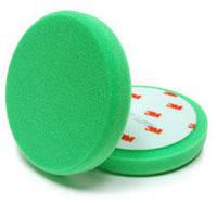 Круг полировочный зеленый поролоновый 3M для полировальной пасты 50417