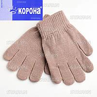 Перчатки с начёсом детские Korona B216-2-R