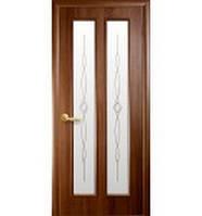 Межкомнатная дверь ПВХ Стела золота ольха 80 рисунок
