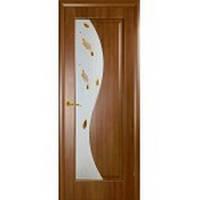 Межкомнатная дверь ПВХ Эскада золота ольха 80 рисунок