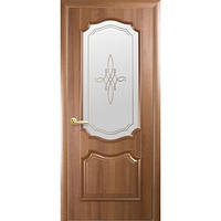 """Двери ПВХ """"Рока"""" 80 р2 (зол. ольха/венге)"""