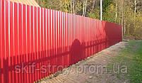 Профнастил стеновой ПС8,  ПС10,  ПС15, ПС20 0,45мм Украина, фото 2