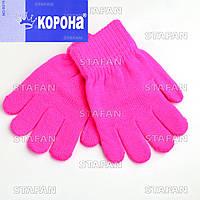 Перчатки с начёсом детские Korona B216-6-R