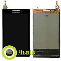 Модуль (сенсор+дисплей) Lenovo TAB 2 A7-10 A7-10F A7-20 A7-20F #131741E1 V1.6 чорний