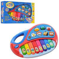 МР 4087/2216 А 11 Пианино звуки животных светящ. на батар.  (72)
