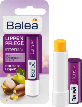 Бальзам для губ Balea Intensiv mit Sheabutter & Arganöl